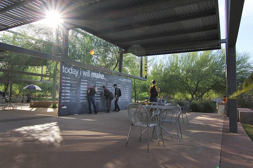 chalkboard ASU - event decor