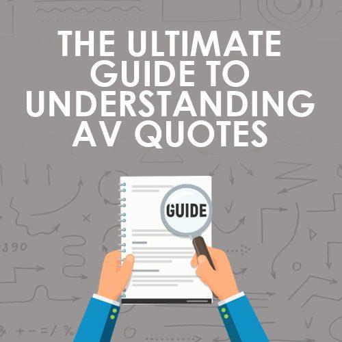 Ultimate Guide to Understanding AV Quotes