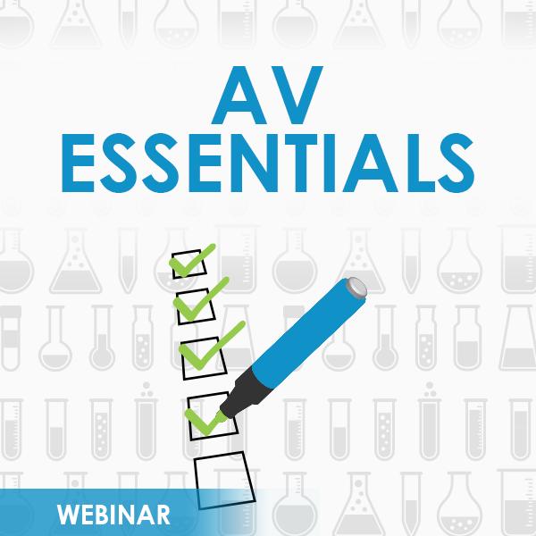 AV Essentials Webinar